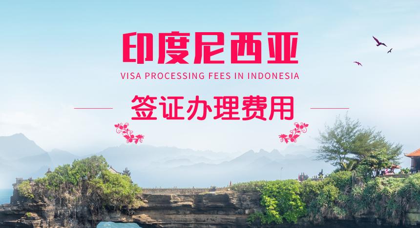 印度尼西亚签证费用